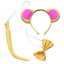 Girafe et Me Costume Monde Livre Jour UK costume robe fantaisie ou Oreilles Queue option
