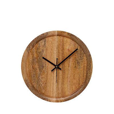 NEW Australian House & Garden Otoway Mango Wood Clock