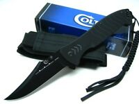 Colt - Large G-10 Flipper Knife W Lanyard 4.6 Blade Ct537 - close-out Price