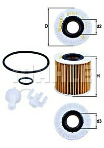 MAHLE Oil Filter For LEXUS TOYOTA LOTUS Es Gs Is III Ls Nx Rc Rx IV 041520V010