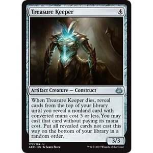 4x MTG Treasure Keeper NM  Aether Revolt - Upminster, United Kingdom - 4x MTG Treasure Keeper NM  Aether Revolt - Upminster, United Kingdom