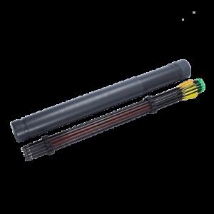 Legend Archery Telescopic Arrow Tube With Internal Separator For Arrows Long Rod