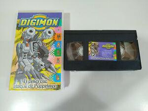 Digimon-el-Peligroso-Ataque-de-Puppetmon-VHS-Cinta-Tape-Espanol