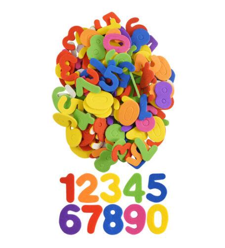 Foam Stickers Numbers /& Alphabet Letters Self Adhesive Childrens EVA Art Craft
