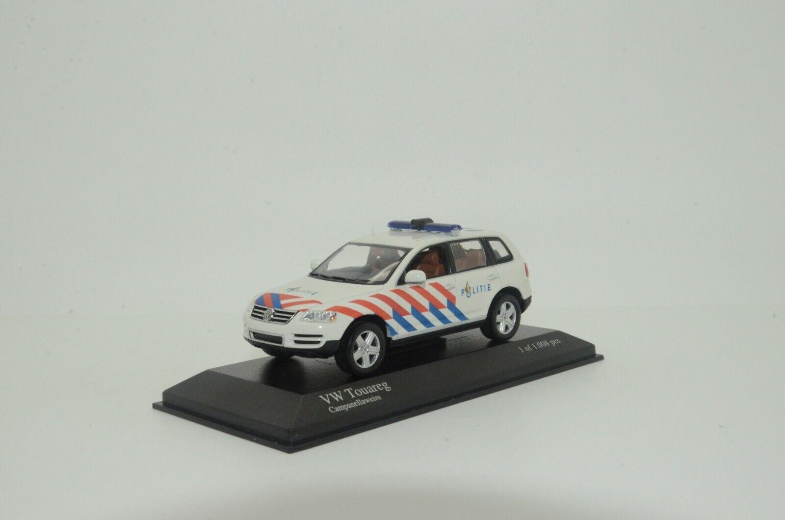 Rare Herregud VW Touareg Holland Polis Polis Egen märke 1  43