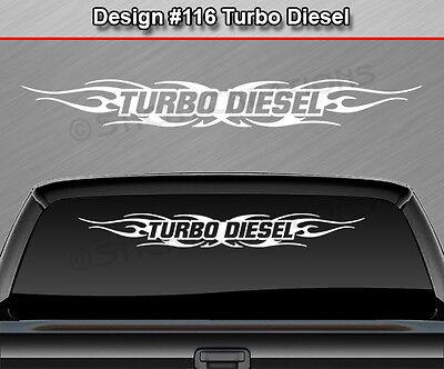 Design #119 Tribal Flame Windshield Decal Rear Window Sticker Vinyl Graphic Car