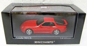 1993-Porsche-968-CS-red-1-43-Minichamps-400-062321-MB