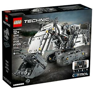 BRAND-NEW-LEGO-TECHNIC-LIEBHERR-R-9800-EXCAVATOR-42100-DIGGER-BUILD-MACHINE