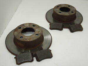 Audi-80-B4-Cabriolet-Rear-Discs-and-Pads-Used