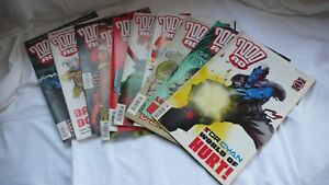 Comic-Collection-Job-Lot-Comics-Judge-Dredd-2000ad-Issues-1254-1263