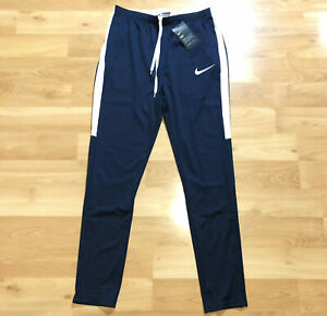 1ace20fa6e Details about Nike Dry Academy Track Pant Navy Obsidian 100% Dri-Fit  Polyester Size XL NEW