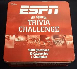 Unopened Set Of Trivia Cards from 2005 ESPN All Sports Trivia Challenge Game