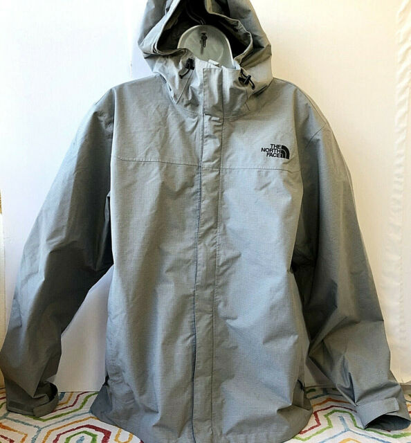 The North Face Men/'s Venture DryVent Waterproof Rain Jacket TNF Black NEW