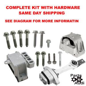 Motor Transmission Mount Set kit For 98-06 VW BEETLE, GOLF, JETTA 1.8,  1.8L, 2.0 | eBayeBay