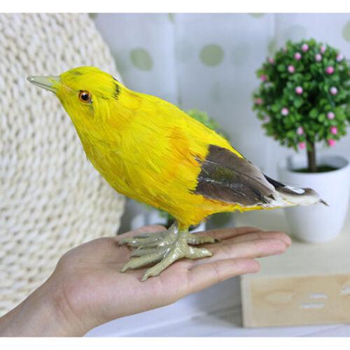 Realistische Oriole lebensechte Vogel Ornament künstliche gefiederte Tier