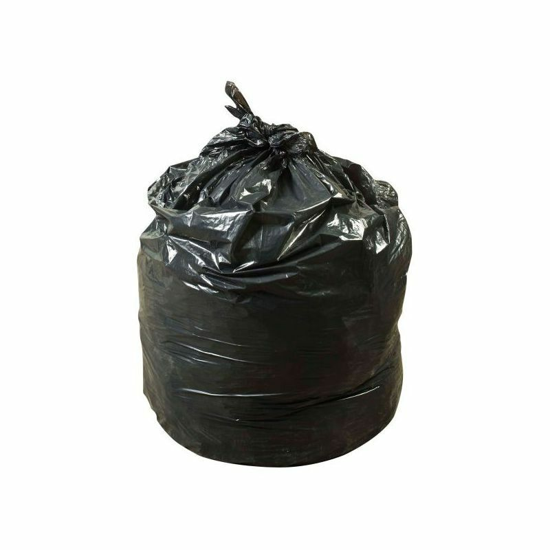 Hercules Recycled Low Density Can Liners, Glutton, 1.75 mil, 43