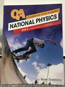 Details about Questions & Answers National Physics Unit 2 Linear Motion and  Waves - Shadwick