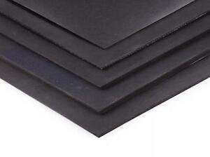 neoprene rubber sheet  - 300mm x 214mm x 6mm a4 size