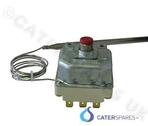 E.G.O FRYER HIGH LIMIT THERMOSTAT 3 PHASE 6 PIN RED BUTTON RESET 55.31542.020