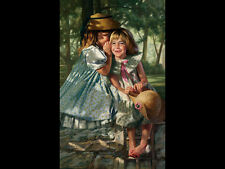 Bob Byerley - Giggles & Whispers - LE Canvas Transfer