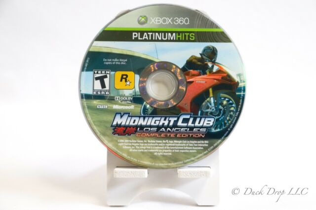 Xbox 360 - Midnight Club Los Angeles Complete Edition (Microsoft, 2009) - NTSC