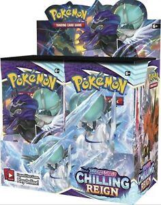 Pokemon TCG: Sword & Shield Chilling Reign Booster Box PREORDER
