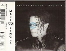 MICHAEL JACKSON who is it CD MAXI