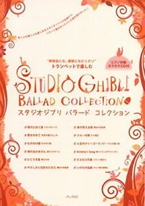 Details about Studio Ghibli Ballad Collection Trumpet Sheet Music Book +  Piano Karaoke CD