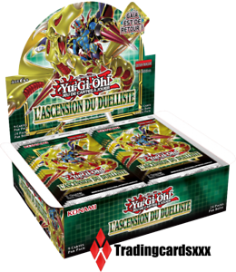 Yu-Gi-Oh-Boite-de-24-Boosters-L-039-Ascension-du-Duelliste