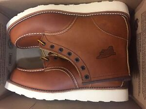 NIB RED WING STYLE 10875 MEN'S TRACTION TRED 6-INCH BOOT MADE IN USA 10-11