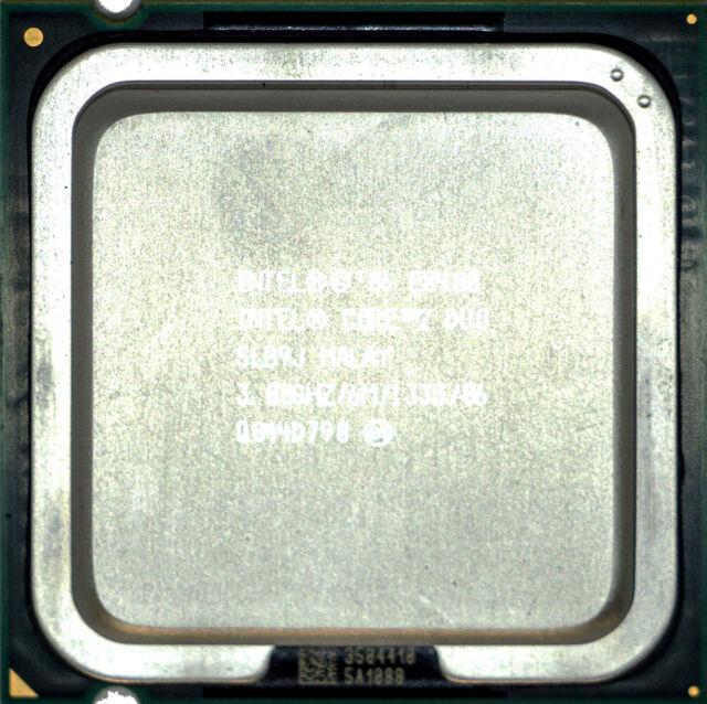 Intel Duo Core 2 E8400 (SLB9J) 3.00GHz 2-Core LGA775 CPU