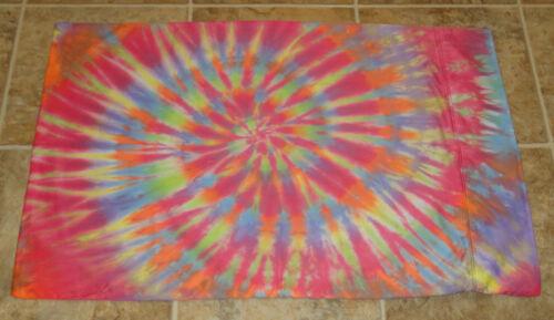 "20/"" x 31.5/"" Pillowcase Hippie Tie Dye Dyed Standard Pillowcases 450TC Single"