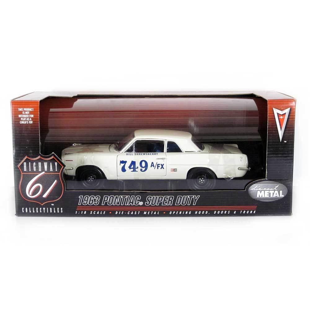 Highway 61  1963 Pontiac Super Duty LeMans Bill Shrewsberry 1 18 Scale