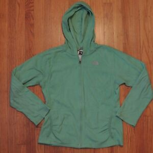 The-North-Face-Fleece-Jacket-Green-Full-Zip-Girls-Size-XL-18