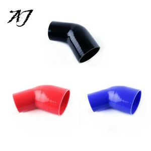 45 Degree Silicone Reducer Elbow Rubber Coolant Radiator Intercooler