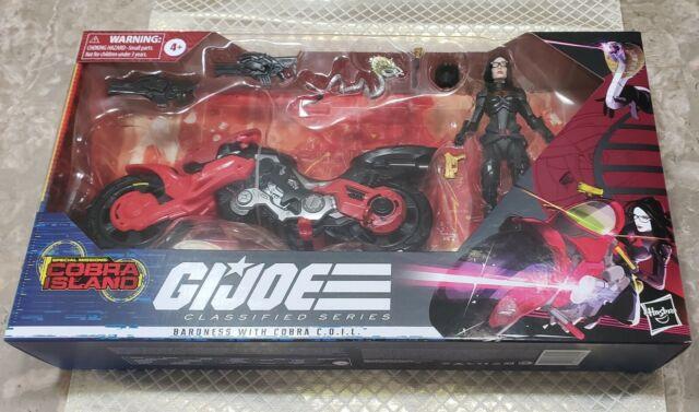 G.I. Joe Classified Baroness C.O.I.L. Bike Cobra Island Target Exclusive🔥🔥🔥🏍