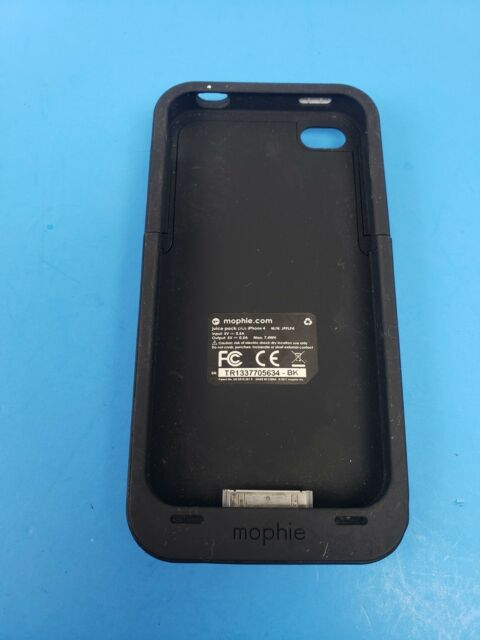 Mophie Juice Pack Plus Case/Rechargeable Battery for iPhone 4 & 4S  - Black