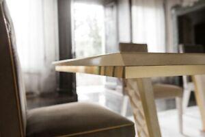 Detalles de Clásicos 1 Silla Diseñador Mueble Madera Barroco Conjunto  Italiana Comedor