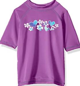 Kanu Surf Girl/'s Sun Protective Rashguard Swim Shirt  UPF 50+ Ages 7-14
