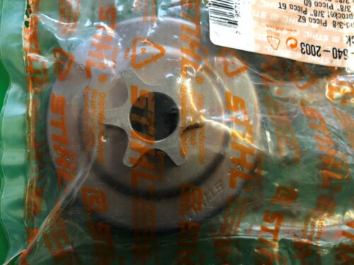 """ST1123 640 2003 Genuine Chain Sprocket 3//8/"""" Picco 6T for Stihl MS170 MS180"""