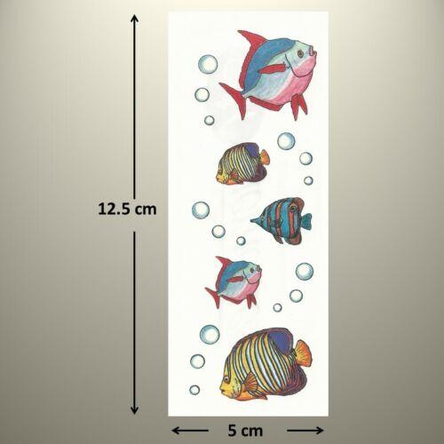 TROPICAL FISH BUBBLES Creative Memories Studio Sticker