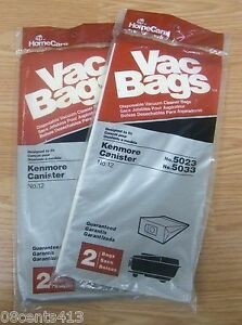 HomeCare-No-12-Vacuum-Bags-Designed-to-Fit-Kenmore-Canister-no-5023-amp-5033