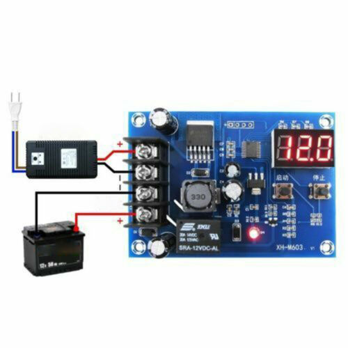 12V//24V Battery Charging Power Supply Switch Module Control Charger Replace Part