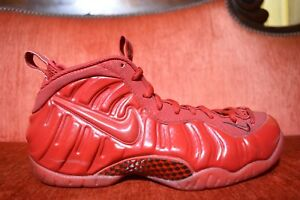 25d933904230f Nike Air Foamposite Pro Yeezy Red October GYM RED 624041-603 Size 9 ...