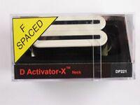 Dimarzio F-spaced D Activator X Neck Humbucker White Dp 221
