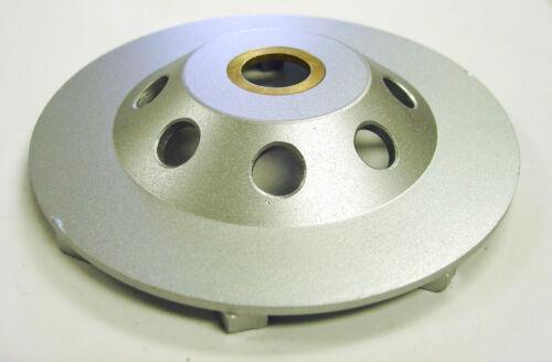 "4.5"" Spiral Turbo Diamond Cup Wheel for Concrete Grinding 9 Segs 7//8-5//8/"" Arbor"