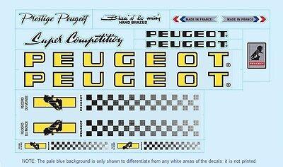 Peugeot PX10/PY10 Fahrrad Aufkleber-Übertragungen-Sticker #4