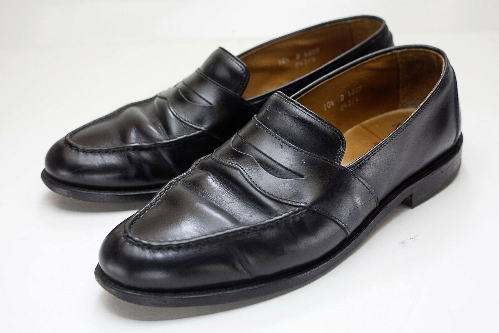 Allen Edmonds 10.5 Black Penny Loafers Men's Dress shoes