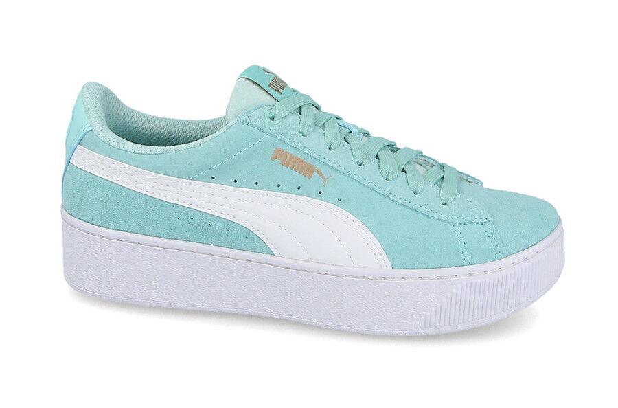 Para Mujer Junior Zapatos Zapatos Zapatos Tenis Puma Vikky plataforma Jr  descuento