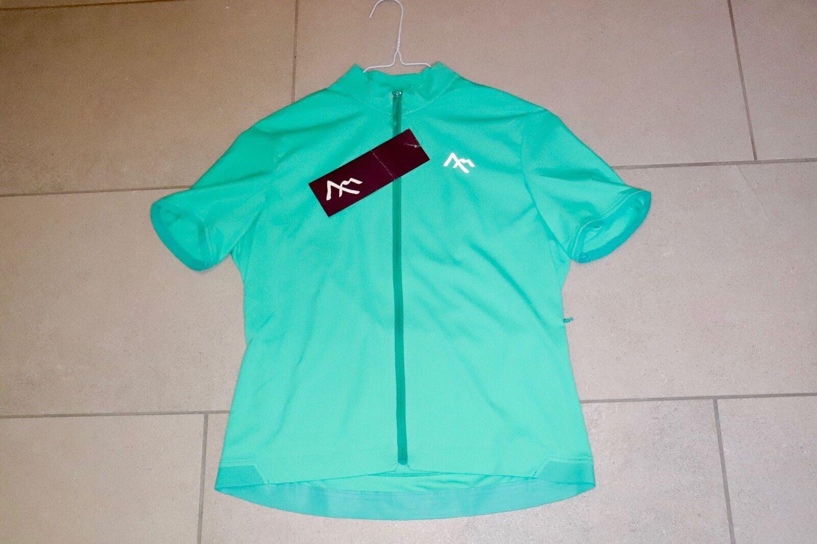 7 Mesh Britannia jersey, W 's Emerald, camiseta VK 100,-€ patrón-venta